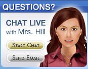 Mrs. Hill on the home page