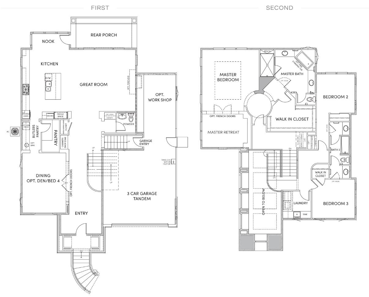 Harvest Court - Residence 2 floorplan