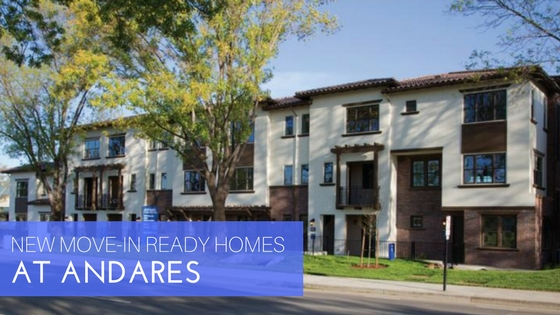 New move in ready home at Andares