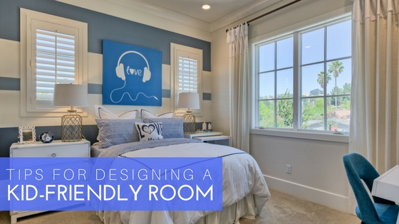 how to design a kid-friendly room